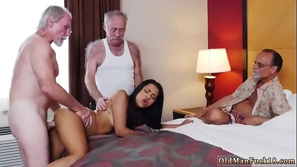 Old young, Old and young, Spanking girl