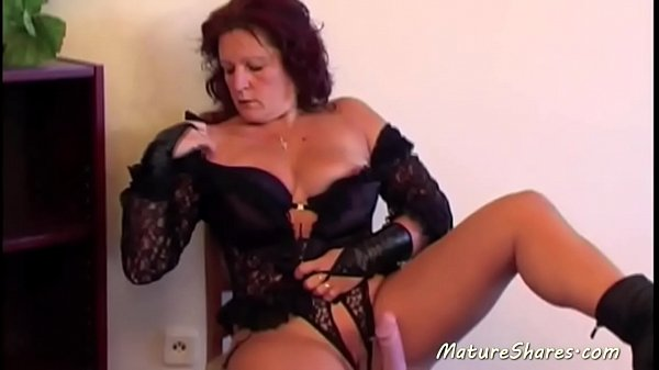Mature solo, Mature whore, Mature dildo, Dildo solo