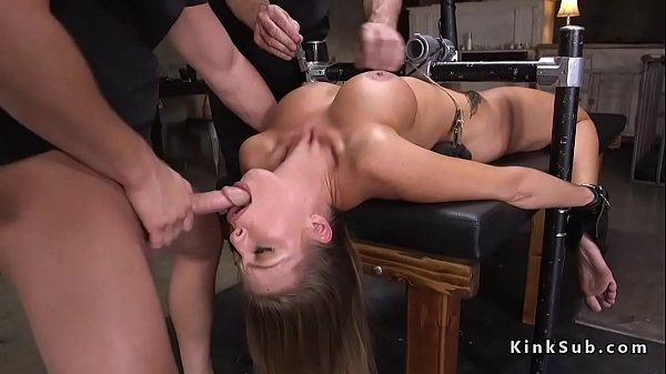 Tied up, Anal blonde