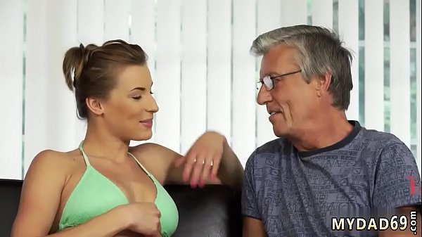Father, Mom sex, Pool, Old mom, Old father, Swimming pool