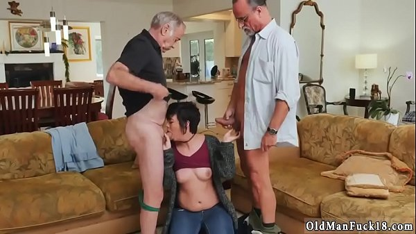 Spanking, Spanking girl, Old fat man, Fat man