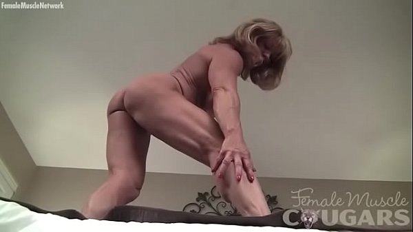 Big clit, Female, Bodybuilder
