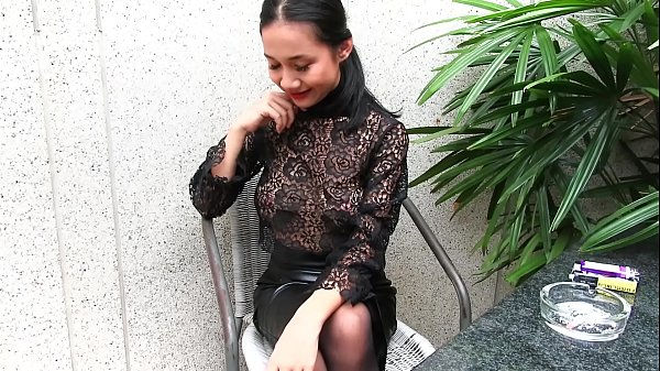 Leather, Young girl, Skirt