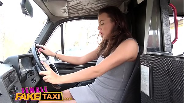 Taxi, Fake taxi, Female, Fake driver