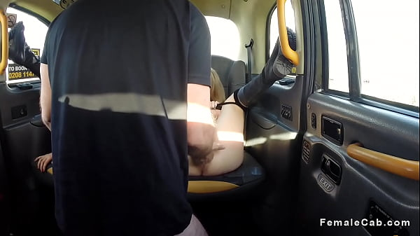 Fake taxi, Licking, Fishnet