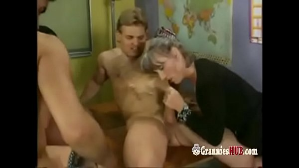 German, Orgy, German granny
