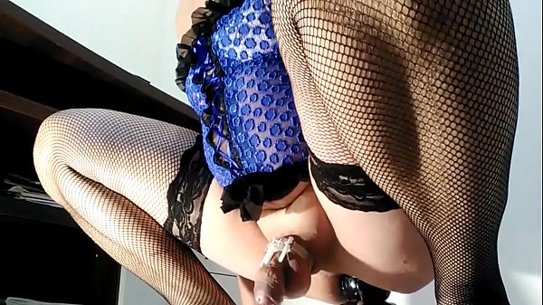 Sissy, Chastity, Big ass anal, Big anal, Cum in ass, Riding anal