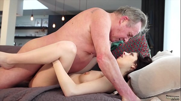 Cum swallow, Young pussy, Old and young