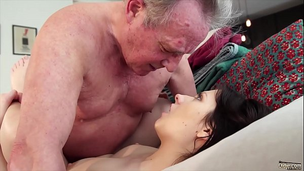 Cum swallow, Old and young, Young pussy