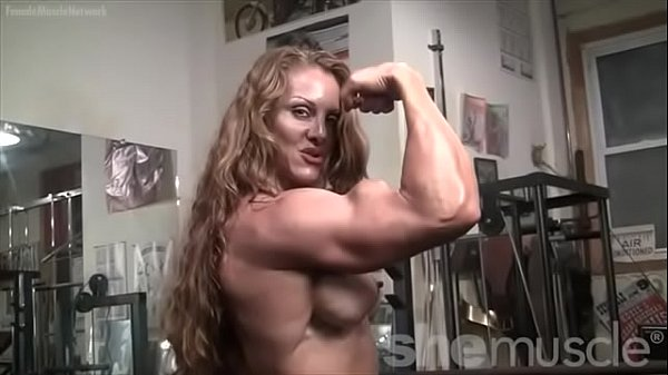 Bodybuilder, Red head