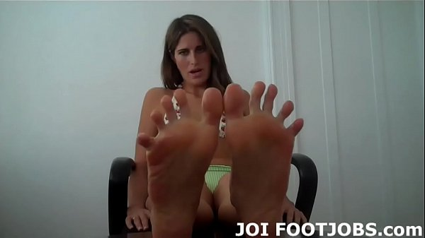 Oiled up, Feet up